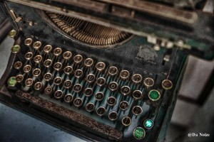 schreibmaschine HDR